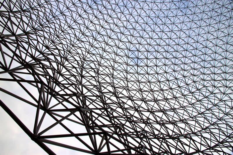Metallstruktur stockbild
