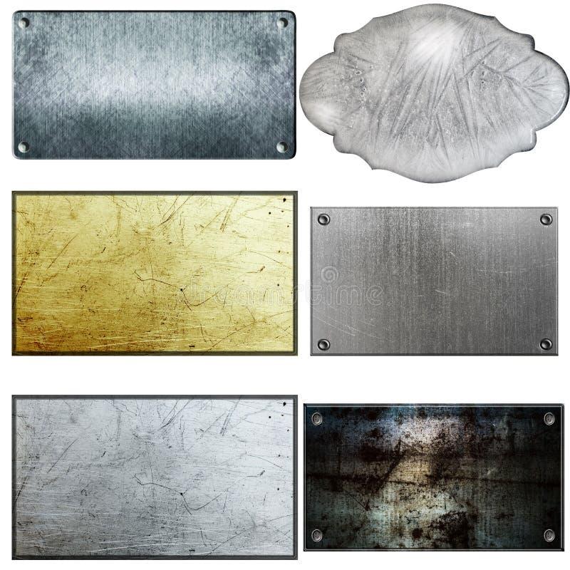 metalltecken arkivbild