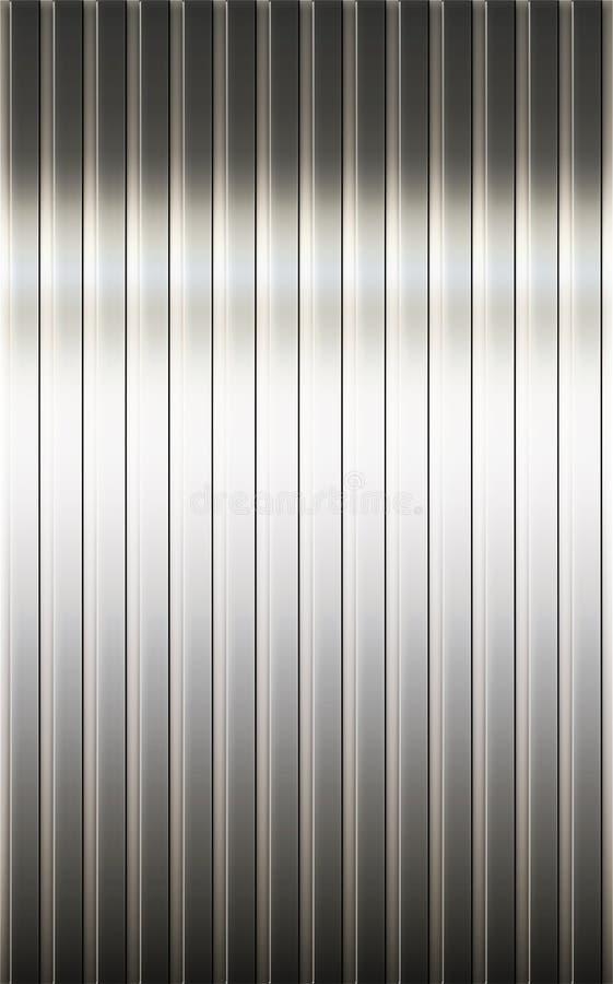 Metalltextur royaltyfri illustrationer