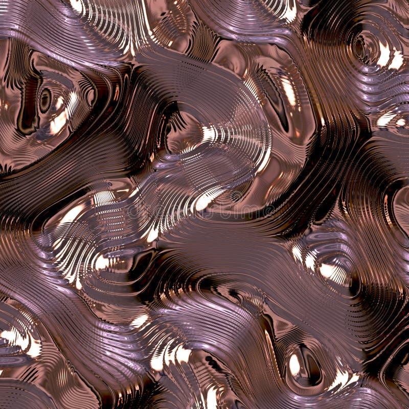 Metallträume stockbilder