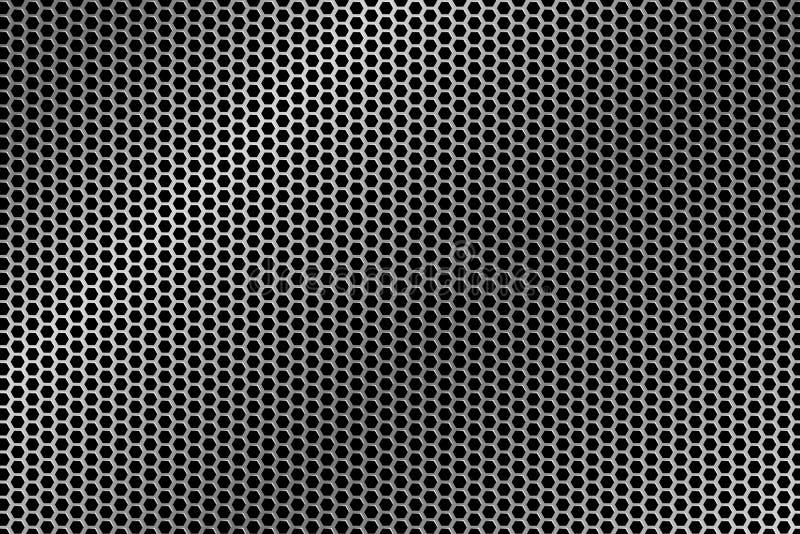 Metalltråd Mesh Texture vektor illustrationer
