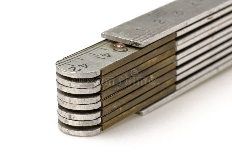 Metalltumstock royaltyfri fotografi