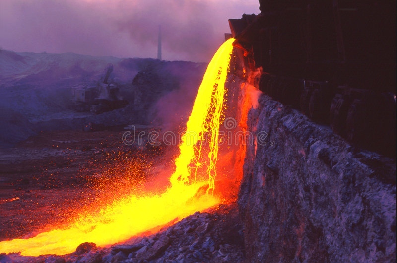 Metallurgia fotografia stock