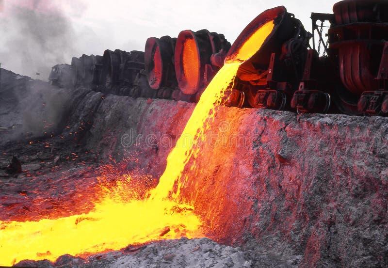 Metallurgie lizenzfreie stockbilder