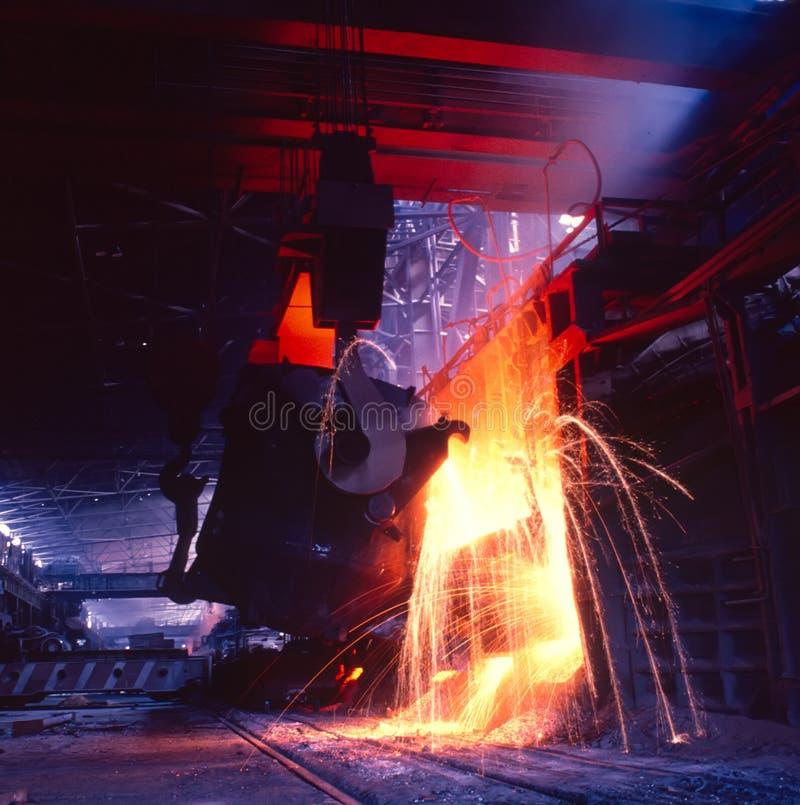 Metallurgier royaltyfri bild