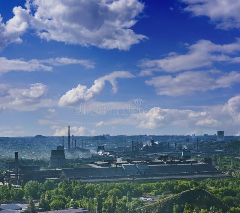 Metallurgy factory stock photography