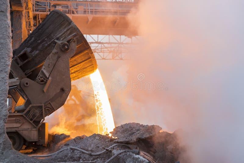 Metallurgy royalty free stock photography