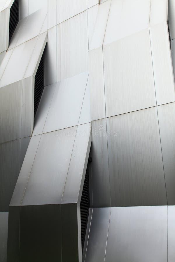 Metallwand stockfoto