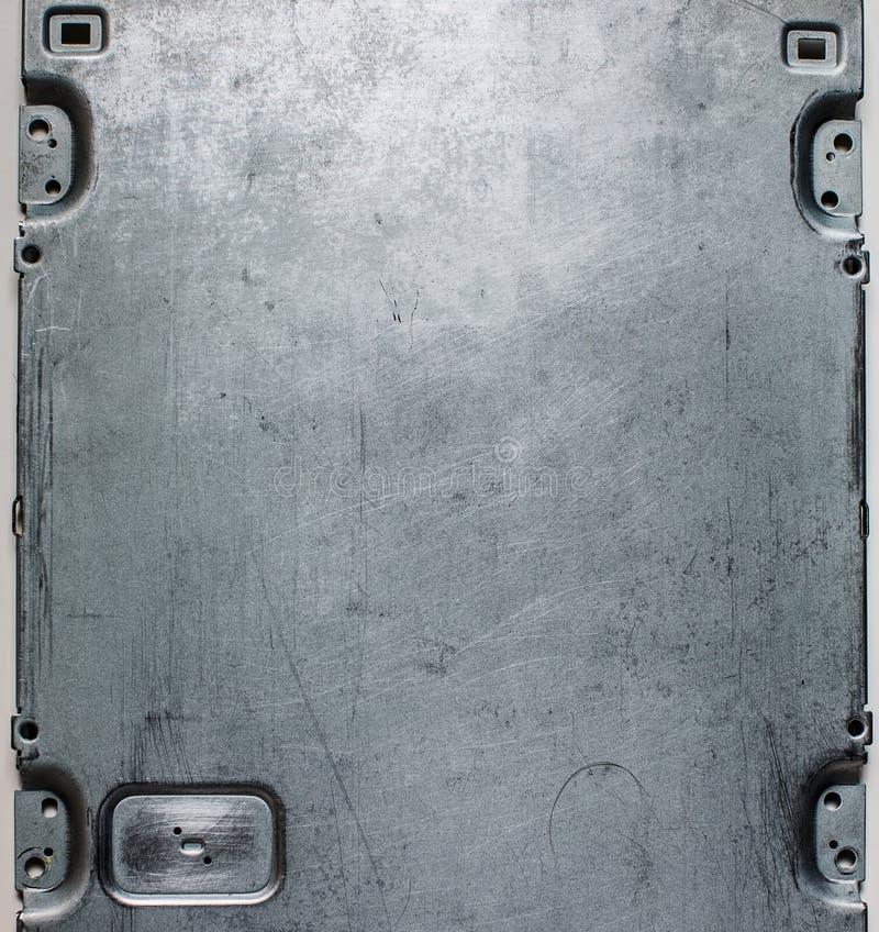Metallyttersida. royaltyfri foto