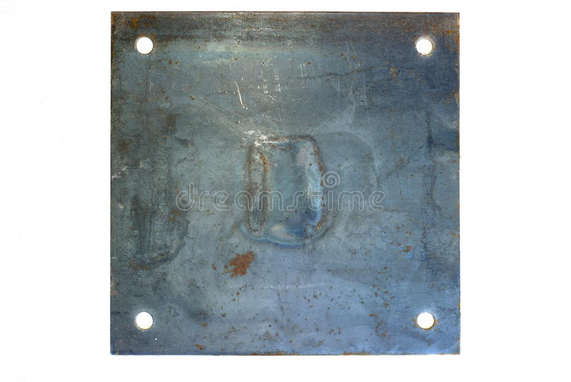 Metallzeichen stockfotos