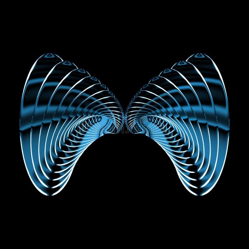 metalowe motyla royalty ilustracja