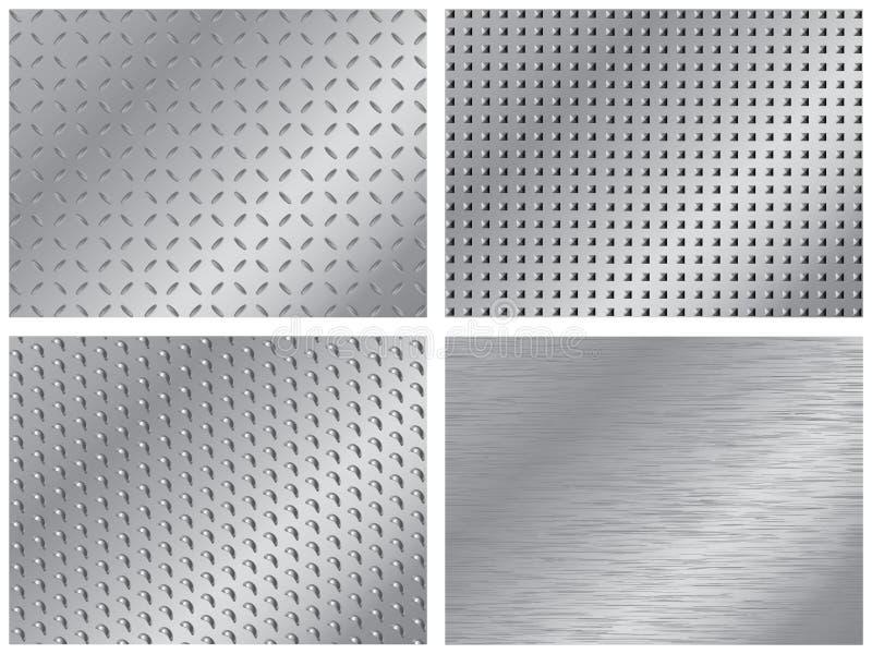 metalowe tło ilustracji