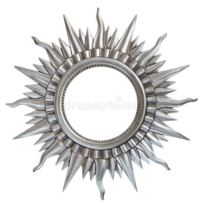 metalu antykwarski ramowy słońce zdjęcia royalty free