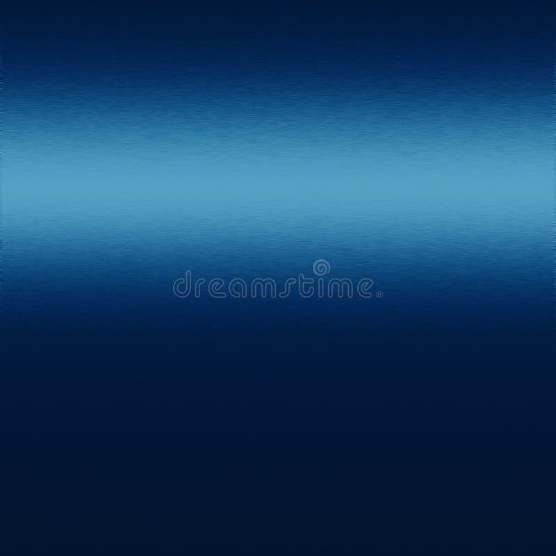 Metalu błękitny tło tekstura lub ilustracja wektor