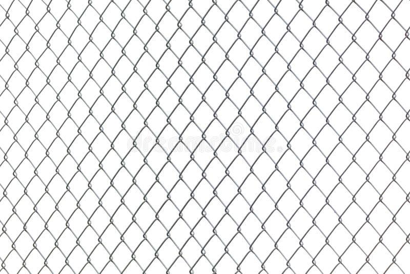 Metalu Chainlink ogrodzenie zdjęcia royalty free