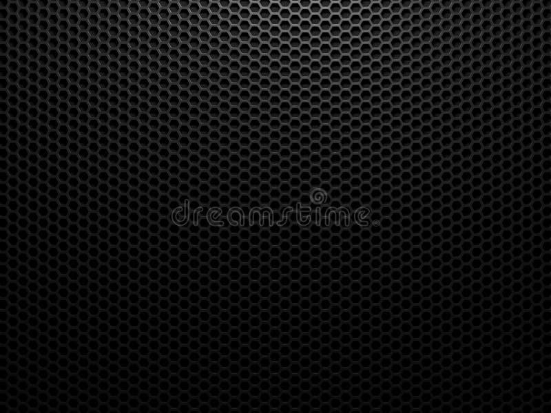 Metalu czarny tło ilustracji