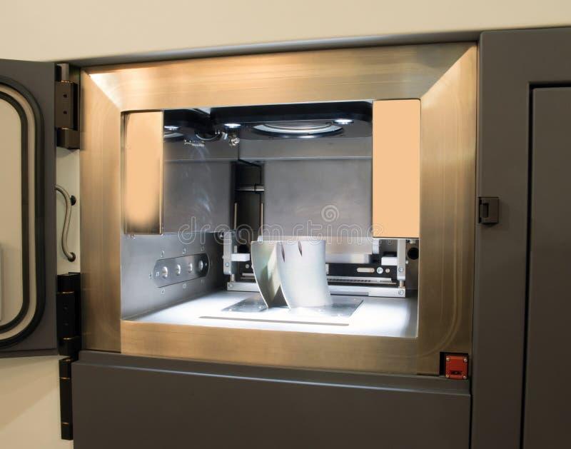 Metalu 3D drukarki & x28; DMLS& x29; obraz stock