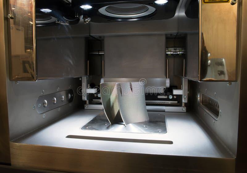 Metalu 3D drukarki & x28; DMLS& x29; zdjęcia royalty free
