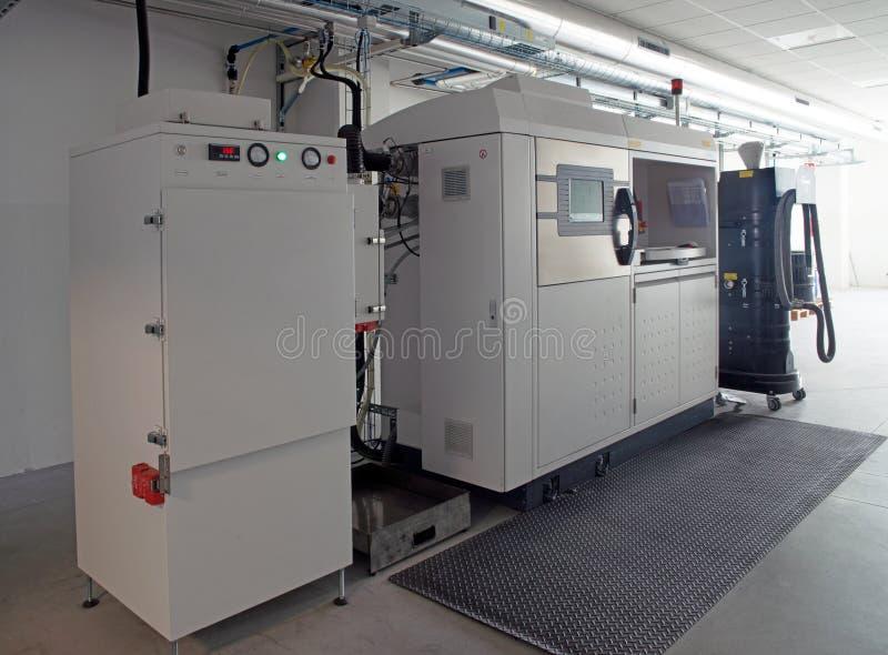 Metalu 3D drukarki & x28; DMLS& x29; fotografia stock