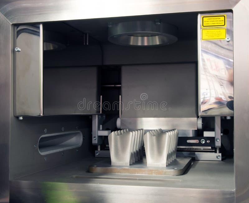 Metalu 3D drukarki & x28; DMLS& x29; zdjęcia stock