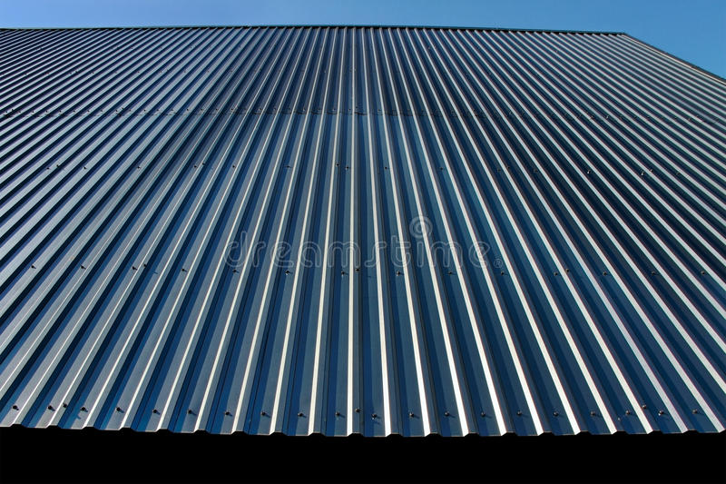 metalu dach obrazy stock