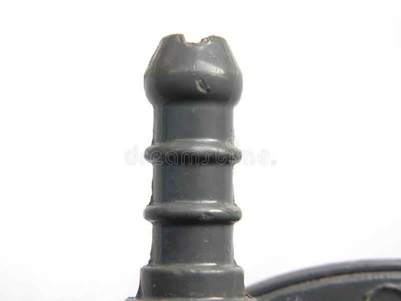 Metalu fajczany włącznik benzynowej butli regulator obrazy royalty free