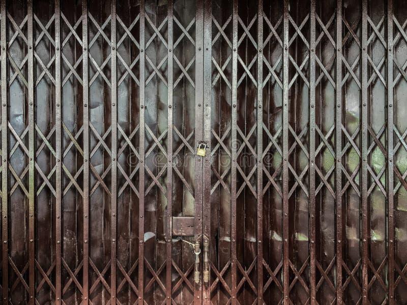 metalu falcowania drzwi zdjęcia royalty free