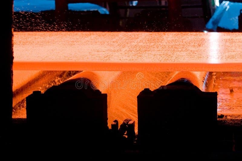 metalu gorący prześcieradło zdjęcia stock