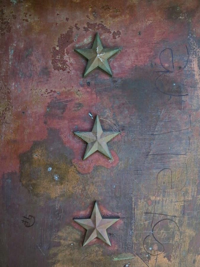 Metalu gwiazdowy tło obraz stock