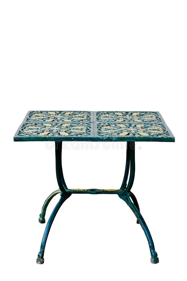 Metalu klasyczny stół obrazy royalty free