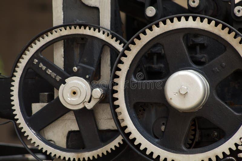 Metalu mechanika przekładni siatka lubi zdjęcia stock