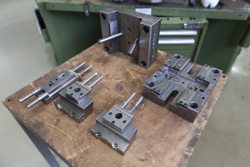 Metalu narzędzie dla pleśnieć zdjęcia stock