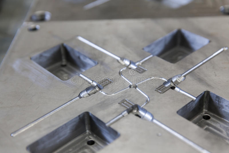 Metalu narzędzie dla pleśnieć zdjęcie royalty free