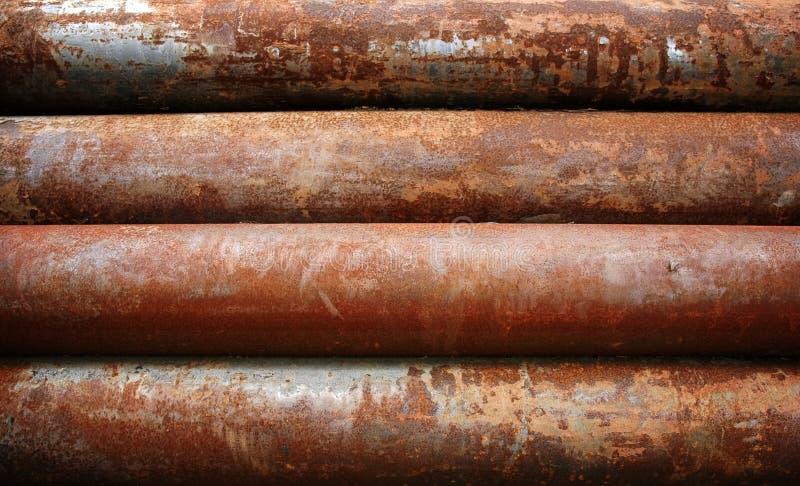 metalu ośniedziały fajczany zdjęcie stock