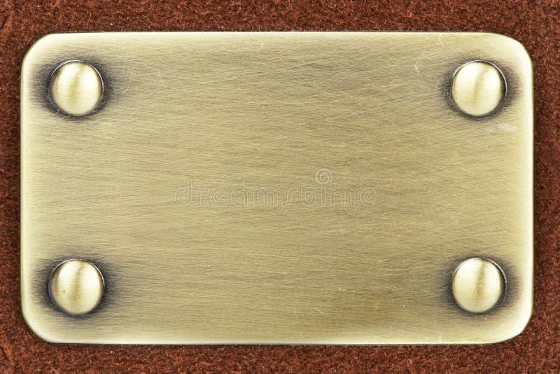 metalu oczyszczony panel zdjęcia royalty free