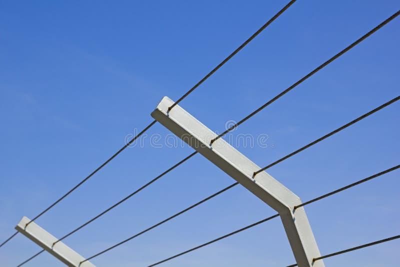 Metalu ogrodzenie. zdjęcia stock
