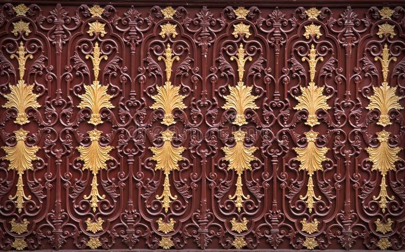 metalu ornamental wzór fotografia stock