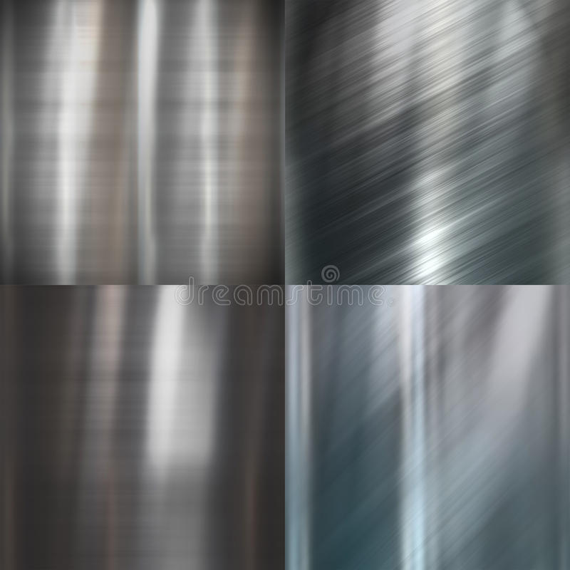 metalu paczki tekstura ilustracja wektor