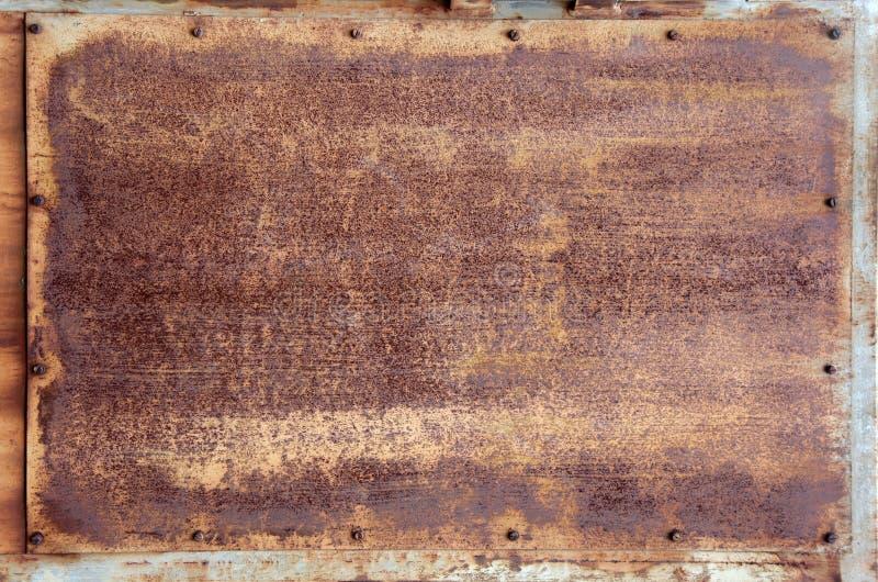 metalu panelu ośniedziała tekstura obrazy royalty free