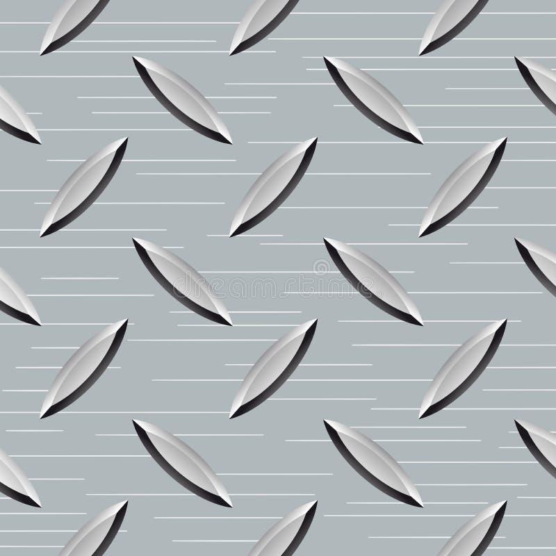 Metalu podłoga tekstura ilustracja wektor