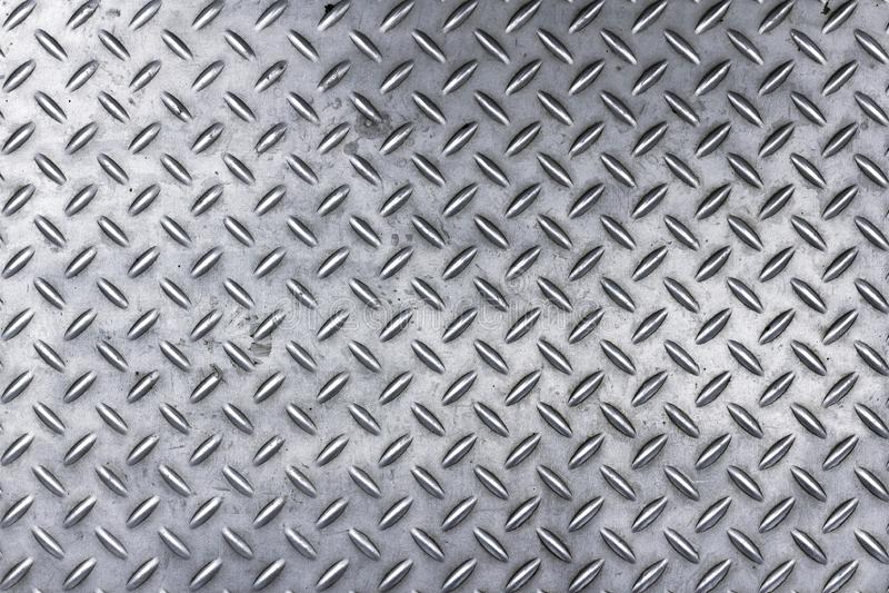 Metalu podłogowego talerza wzór zdjęcia stock