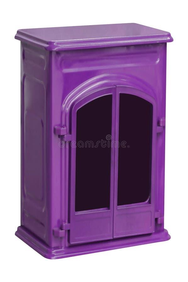 Metalu purpurowy piec odizolowywający zdjęcie royalty free