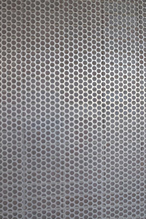 Metalu tła rusztowy wzór; geometryczne formy ilustracja wektor