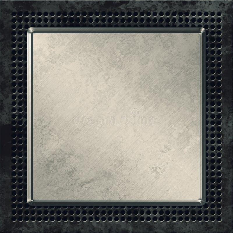 Metalu tło ilustracji