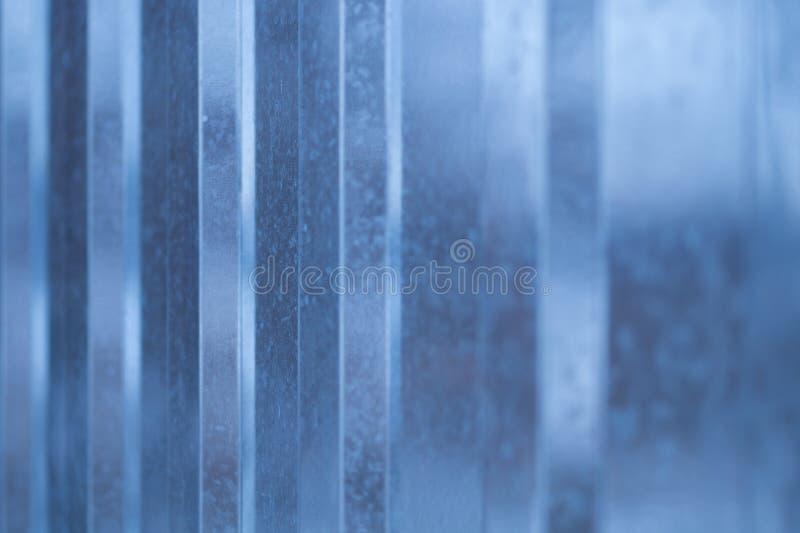 Metalu tło Profilująca metal błyszcząca powierzchnia obrazy royalty free