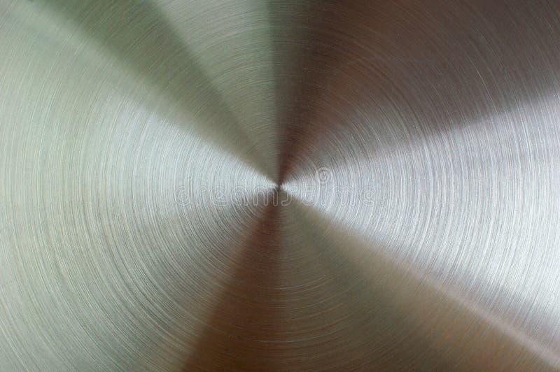Metalu tło z kurendy Oczyszczoną teksturą Chrom, żelazo, st zdjęcie stock