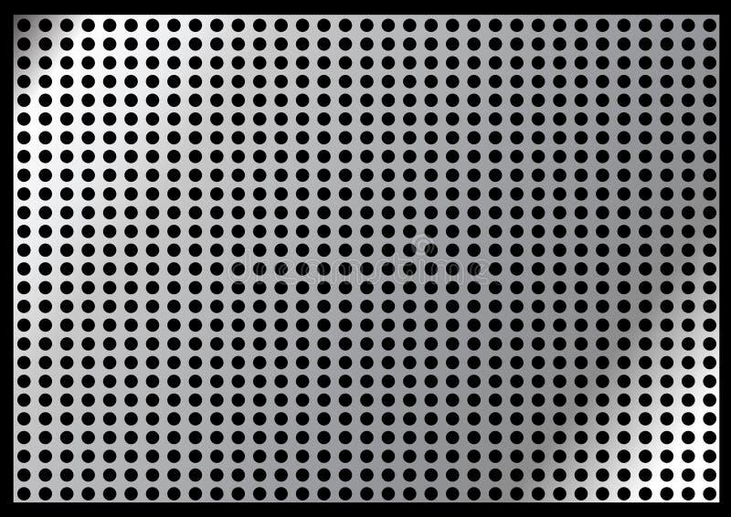 metalu talerz ilustracja wektor