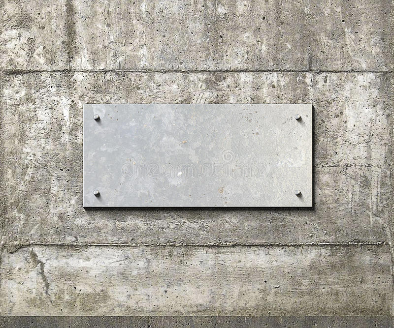 Metalu talerza tło ilustracja wektor