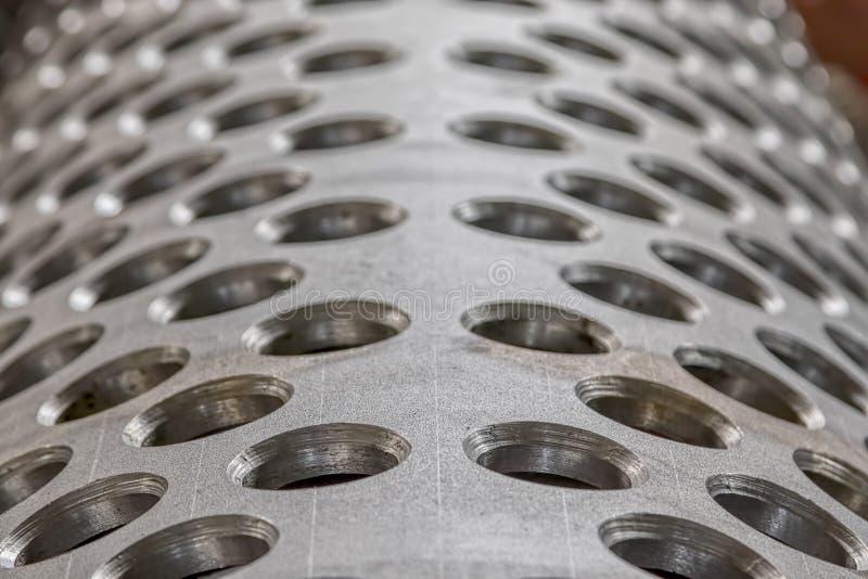 Metalu tunelowy szczegół obrazy royalty free