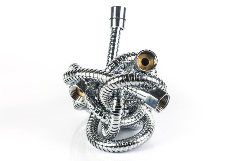 Metalu węża elastycznego drymba obraz stock